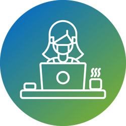 work-from-home-covid-icon-gradient