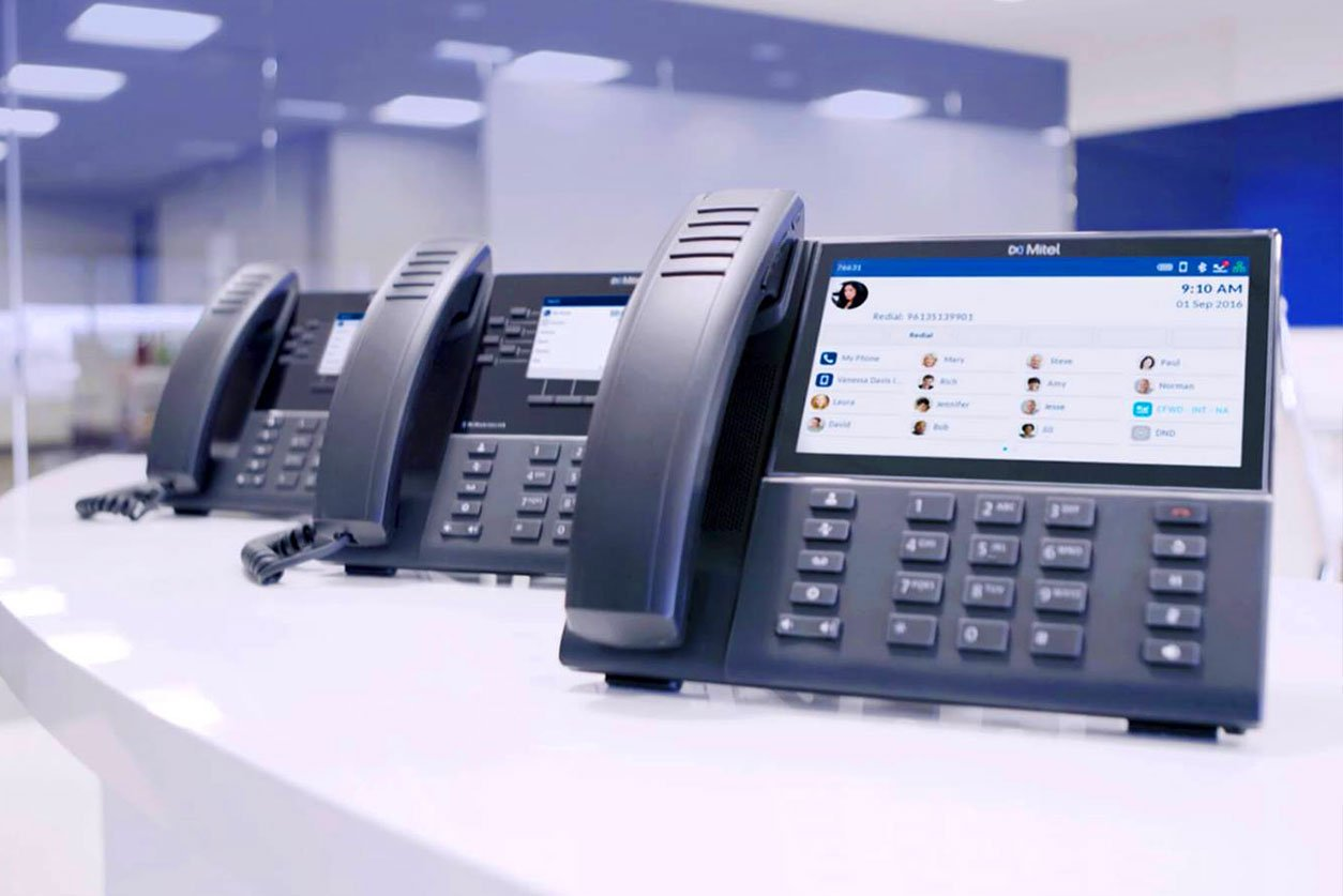mitel-phones-on-table