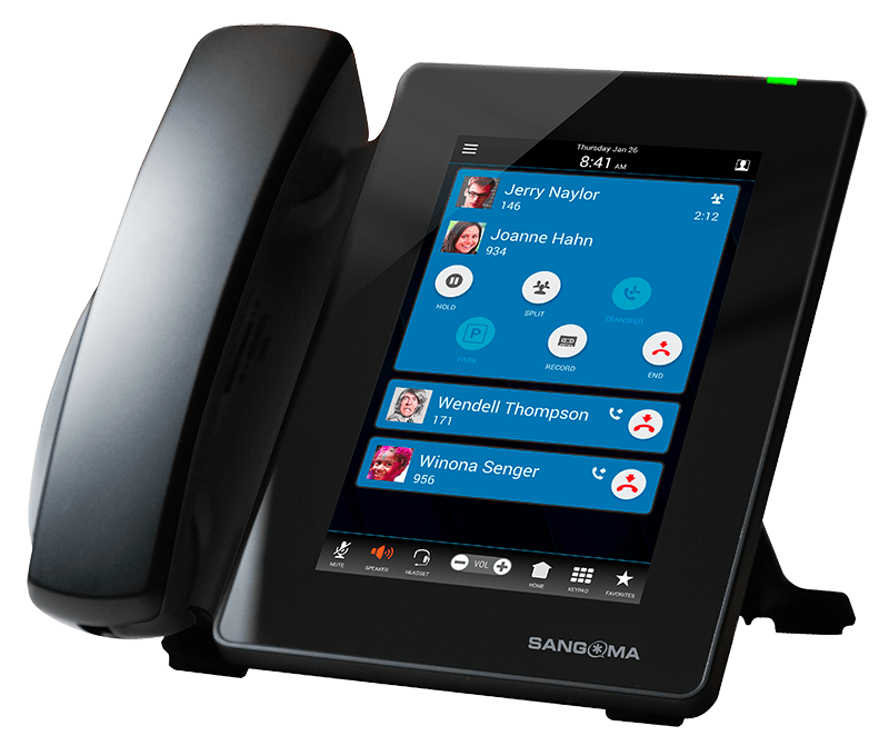 D80 sangoma phone