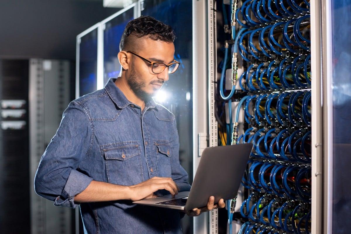 network switch installation