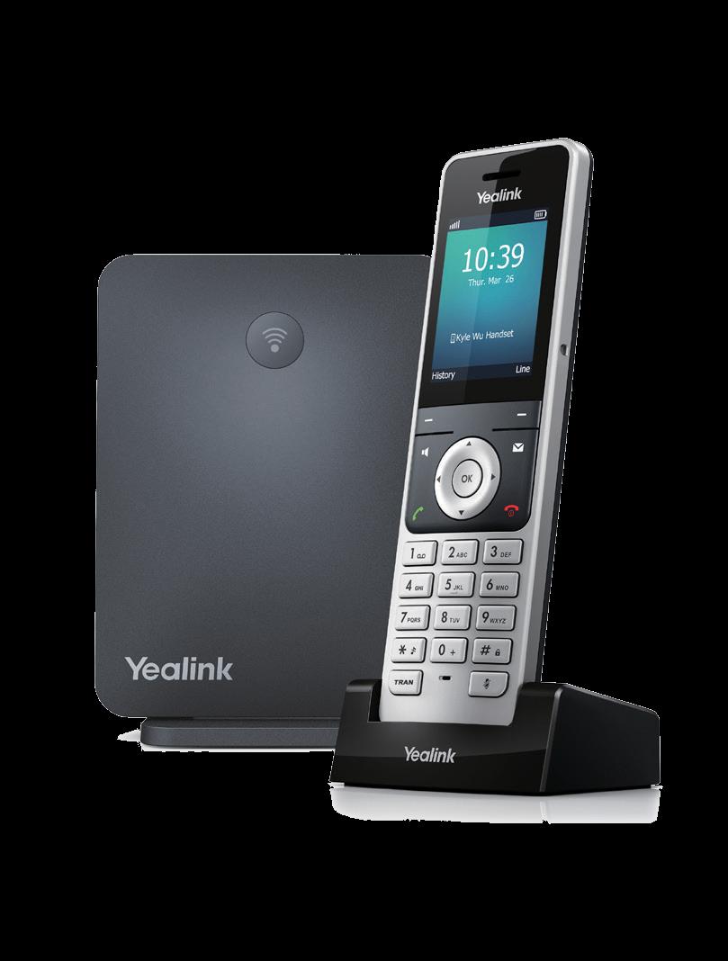 W60P DECT IP Phone